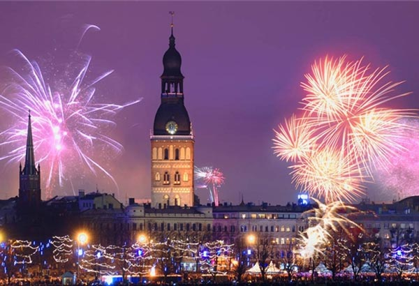 New Year 2020 in Riga